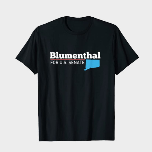 Richard Blumenthal for senate 2022 t-shirt merch Connecticut
